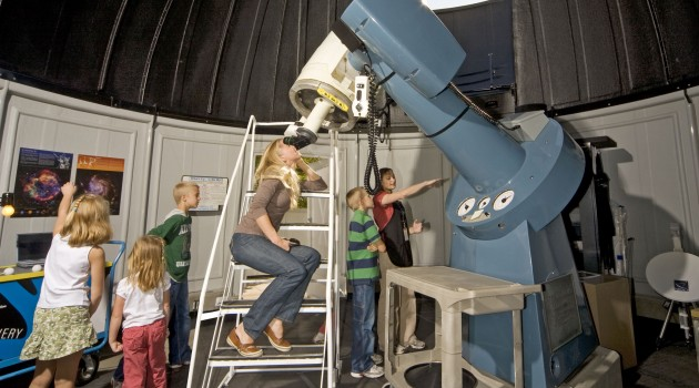 The Smithsonian's National Air and Space Museum opens new Public Observatory on the Mall in Washington, D.C.