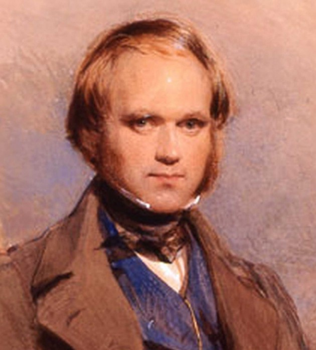 Image: 1840 portrait of Charles Darwin by George Richmond