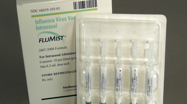 "FluMist ""live"" vaccine enters Smithsonian collections"