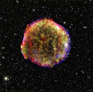 tycho supernova remnant, Smithsonian Astrophysical Observatory