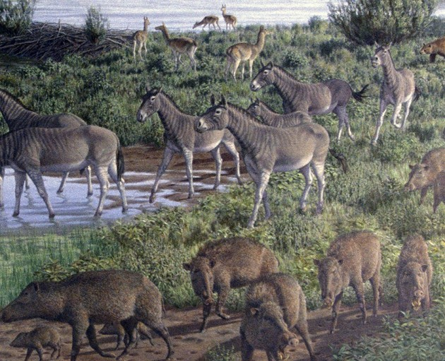 Prehistoric megafauna