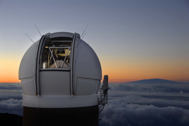 telescope and its housing in Hawaii