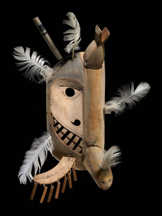 Yup'ik mask, National Museum of the American Indian