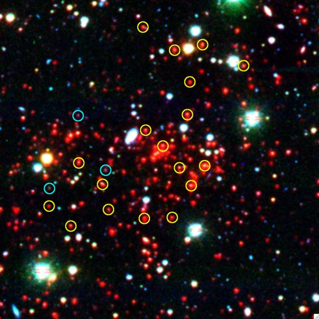 telescope view of a newly discovered galaxy