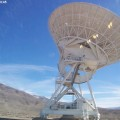 A Very Large Baseline Array telescope dish in Owens Valley, Calif.
