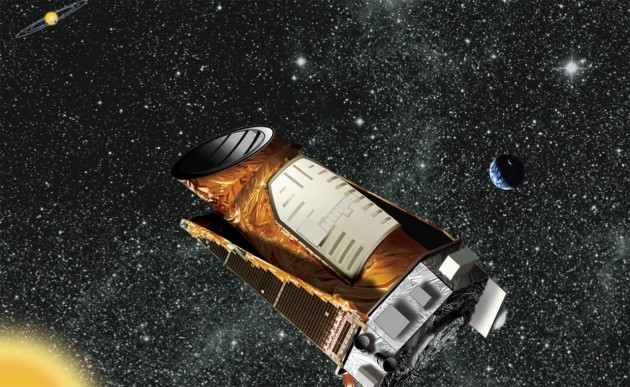 NASA's Kepler spacecraft has identified more than 1,200 planetary candidates ranging in size from Earth to Jupiter. HARPS-N will help confirm Kepler's planet finds. Credit: NASA