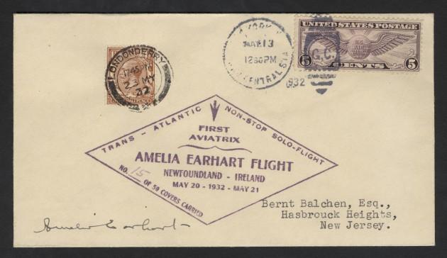Amelia Earhart Solo