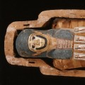 Mummy and Coffin