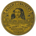 Madam C.J. Walker, Hair Product Tin, 1925