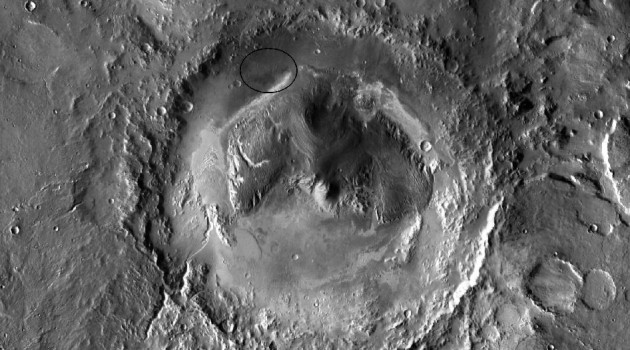 Gale Crater to be landing site for NASA's Mars Science Laboratory