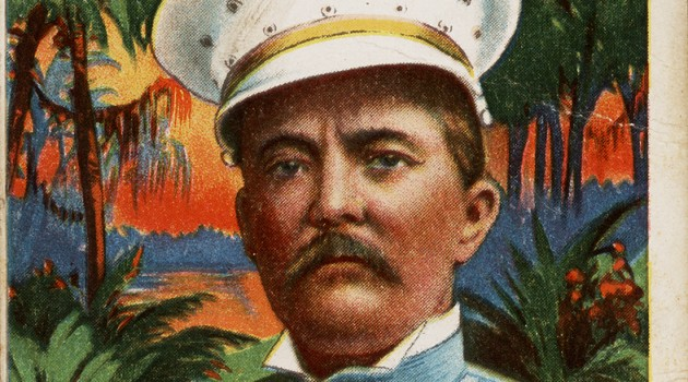 1910 Henry M. Stanley trading card