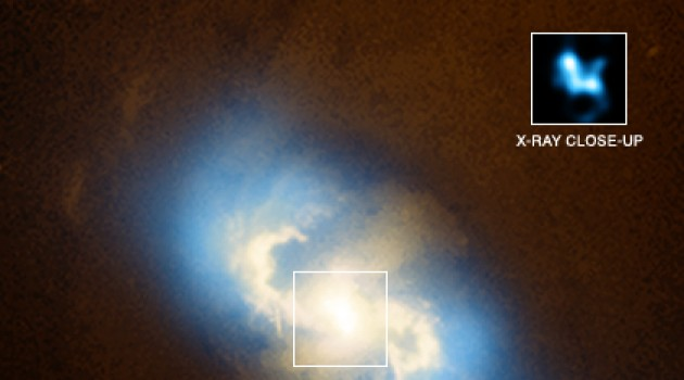 Newly discovered supermassive black holes are just 160 million light years from Earth