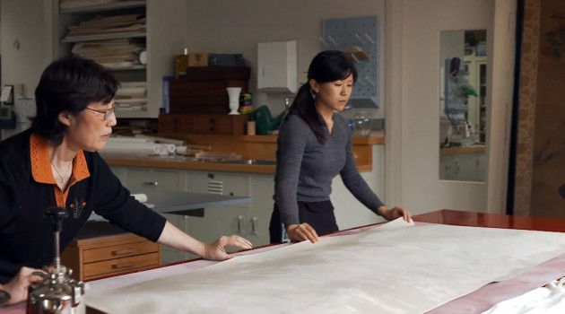 Zen and the art of fine art conservation: Behind the scenes in the Freer Gallery's art conservation lab