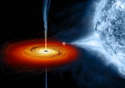 black hole in Cygnus X-1