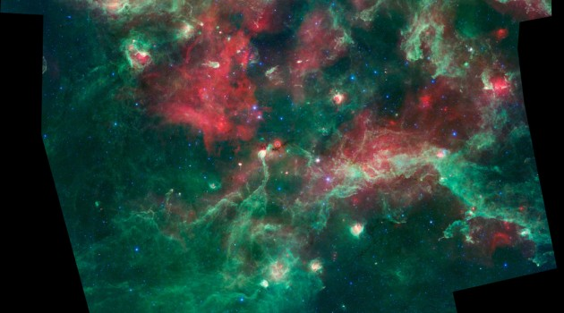 New Spitzer Space Telescope image shows space nursery
