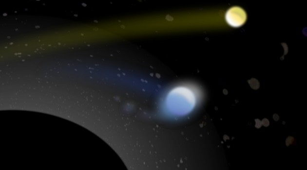 "Steady diet of binary star partners makes black holes grow ""supermassive"""