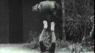 Japanese acrobats ca. 1927, footage from the Smithsonian's Human Studies Film Archive
