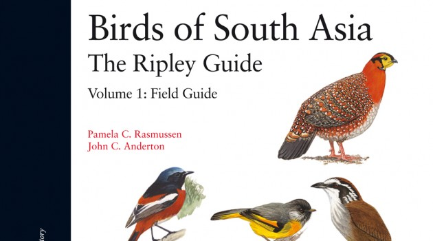 "New Book: ""Birds of South Asia: The Ripley Guide"""