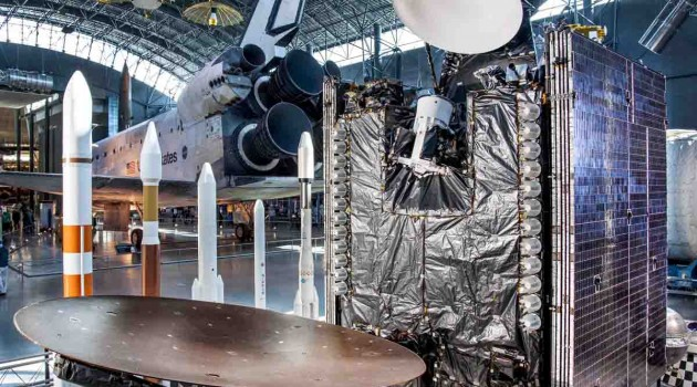 Sirius FM-4 broadcasting satellite donated to the Smithsonian