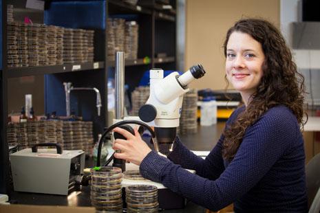 Laura Walker (Photo by Russel Cothren, University of Arkansas)