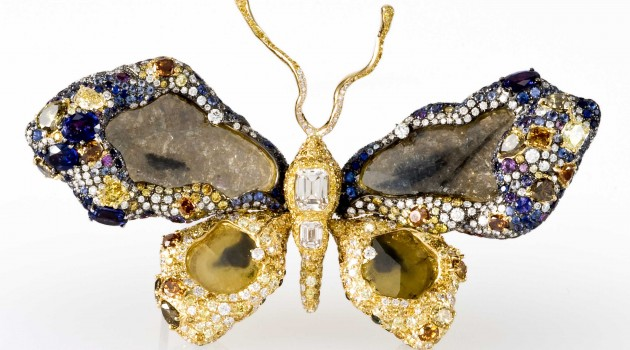 Butterfly Brooch Enters National Gem Collection