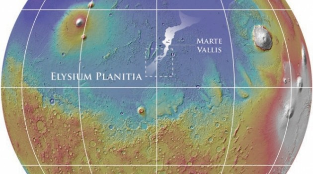 Water channels discovered on Mars
