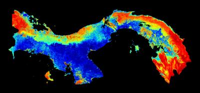 Research team creates first carbon map of an entire country: Panama