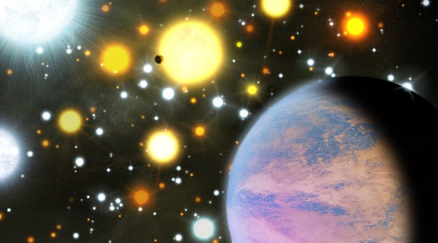 In the star cluster NGC 6811, astronomers have found two planets smaller than Neptune orbiting Sun-like stars. (Credit: Michael Bachofner)