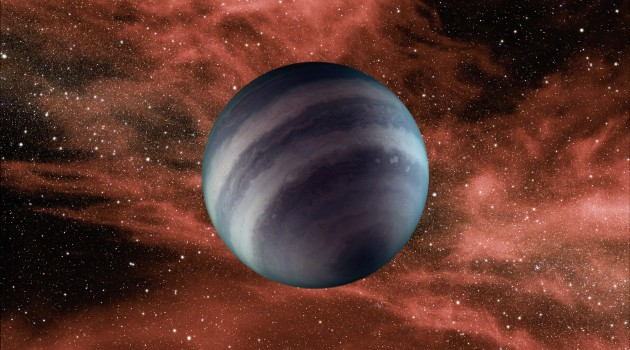 This artist's conception portrays a free-floating brown dwarf, or failed star. A new study shows that several of these objects are warmer than previously thought with temperatures about 250-350 degrees Fahrenheit. Credit: NASA/JPL-Caltech
