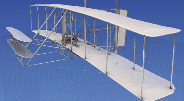 Take a 3D tour of the 1903 Wright Flyer!