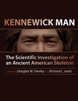 (Image courtesy Texas A&M University Press. Detail from sculpted bust of Kennewick Man by StudioEIS with Jiwoong Cheh; based on forensic facial reconstruction by Amanda Danning; image provided by StudioEIS.)