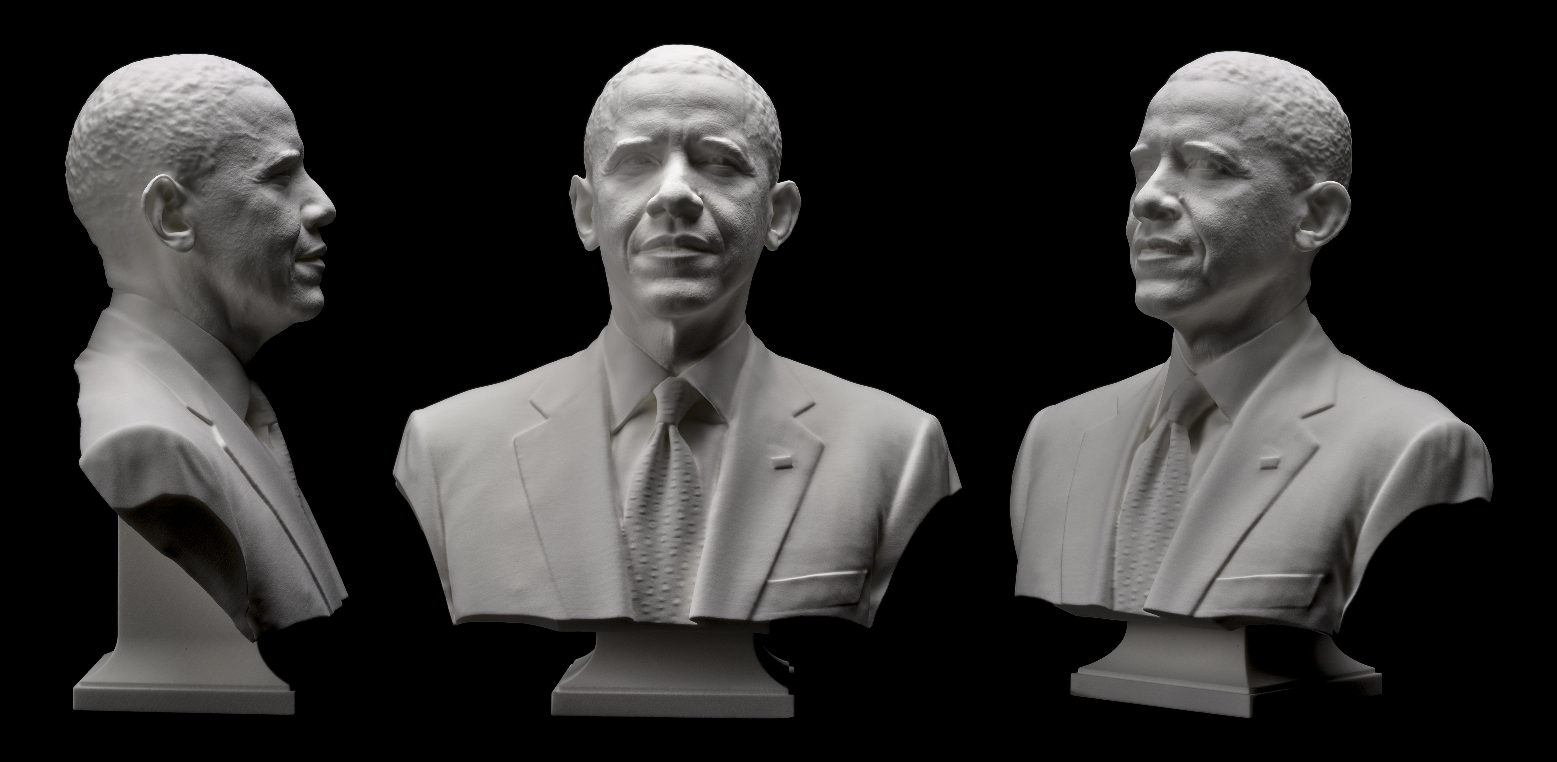 3 d portrait of president obama smithsonian insider
