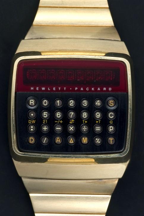 Hewlett Packard calculator watch.