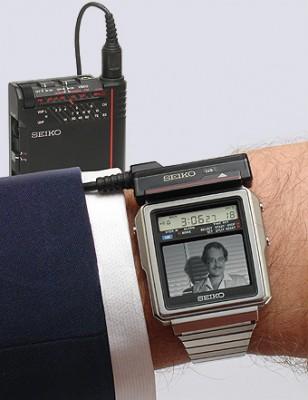 Seiko Watch Man TV wristwatch. (Seiko photo)