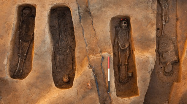 A team of scientists used multiple lines of evidence, including archaeology, skeletal analyses, chemical testing, 3-D technology and genealogical research, to single out the names of four prominent men who died and were buried at Jamestown from 1608 through 1617. (Photo by Donald Hurlbert)