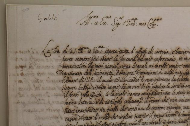 Letter to Nicolas Claude Fabri de Peiresc, by Galileo Galilei, 1635