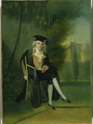 Smithson was known as a hard-working and diligent student. He studied at Pembroke College, Oxford and received a Master's in science in 1786. (Image: James Roberts)