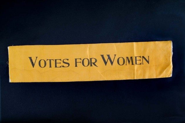 Suffrage Sash, c. 1910