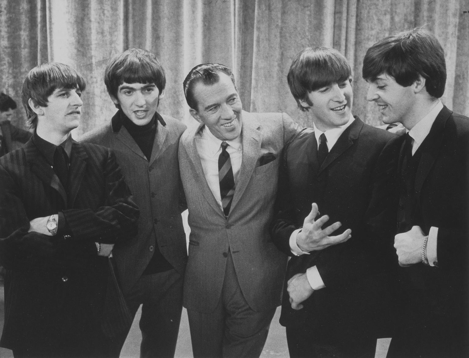 Image of: Edsullivanshow Smithsonians National Portrait Gallery Smithsonian Insider The Beatles First Appearance On