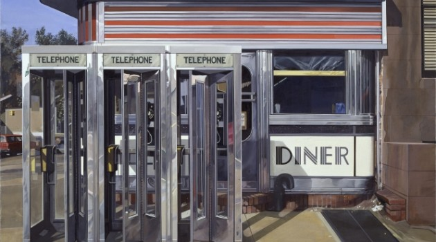 Richard Estes, Diner, 1971, oil on canvas, Hirshhorn Museum and Sculpture Garden, Smithsonian Institution, Museum purchase 1977. © Richard Estes, courtesy Marlborough Gallery, New York. Photo by Lee Stalsworth