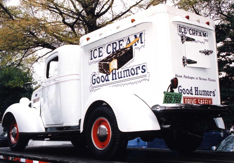 Good Humor Ice Cream Truck, 1938   Smithsonian Insider