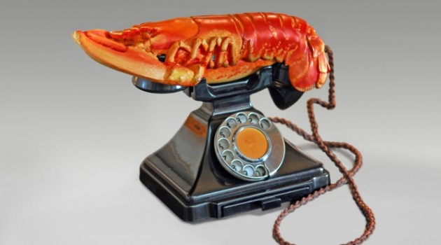Lobster Telephone, 1938 © Salvador Dalí, Fundació Gala-Salvador Dalí, Artists Rights Society (ARS), New York 2015