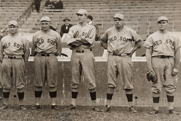 Babe Ruth And Other Red Sox Pitchers 1915 Smithsonian