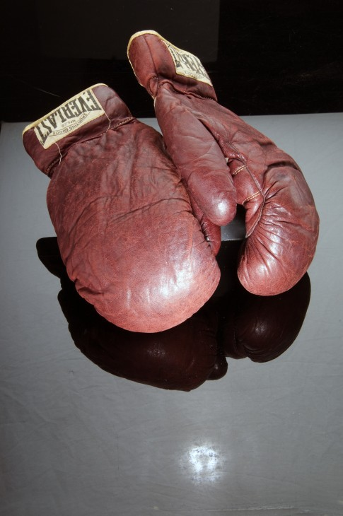Joe Louis' Boxing Gloves, 1936