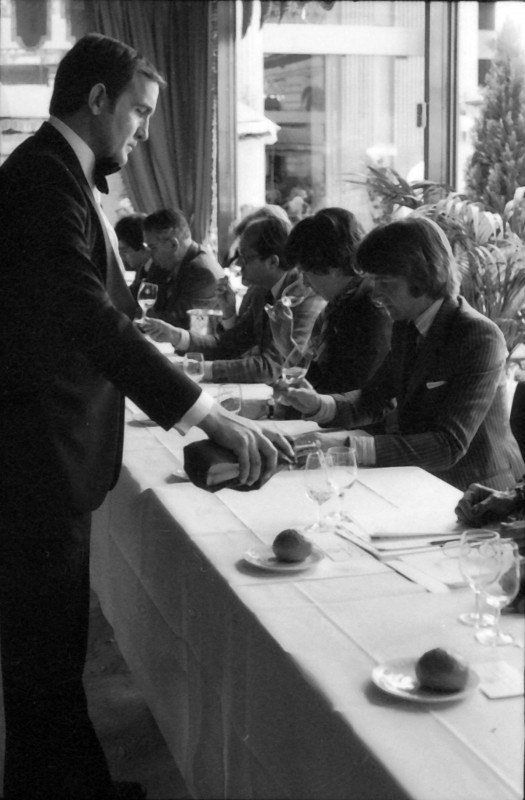 Judges at Paris tasting