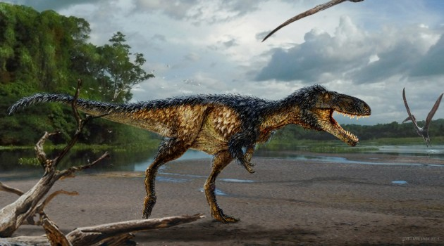 "New horse-sized tyrannosaur with big brain reveals how ""T. rex"" became top predator"