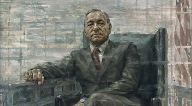 Kevin Spacey as Frank Underwood by Jonathan Yeo (Smithsonian's National Portrait Gallery)