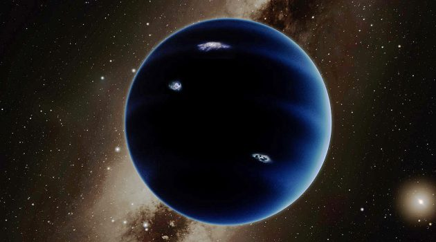 Artist's conception of Planet Nine. (Image courtesy Caltech/R. Hurt)