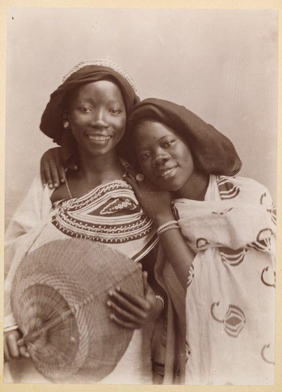 Two women in Zanzibar, c. 1900