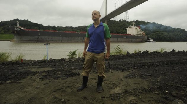 Smithsonian staff scientist, Carlos Jaramillo (shown here), and Bruce McFadden from the Florida Museum of Natural History led a 5 year project to collect fossils from and understand the geology of the Panama Canal expansion earthworks. (Photo by Sean Mattson, STRI staff photographer)